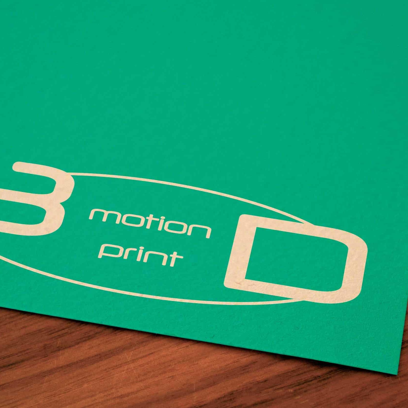 Logo 3D Motion Print